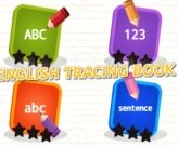 English Tracing Book